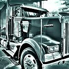 Kenworth...in Mono by Stevie Mancini
