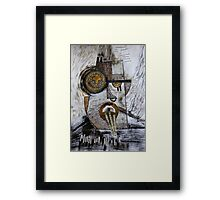 Barbarism (3) - Primitive Framed Print