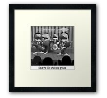 Twist & Spout  Framed Print