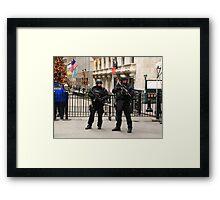 Guns and butter Framed Print