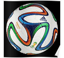 2014 FIFA World Cup Brazil match ball big enough for duvet Poster