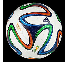 2014 FIFA World Cup Brazil match ball big enough for duvet Photographic Print
