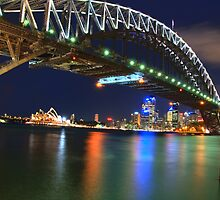 Icons - Moods Of A City #23 - The HDR Series , Sydney Harbour , Australia by Philip Johnson