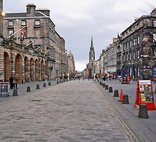 The Royal Mile, Edinburgh by Andrew Ness - www.nessphotography.com