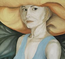 Me and my Straw Hat by Kim Bender