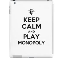 Keep Calm and Play Monopoly iPad Case/Skin