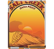 Salt Creek Dana Point California Surfing iPad Case/Skin