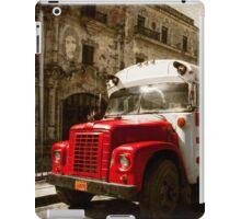 big red iPad Case/Skin