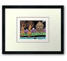 Water Table Able Framed Print
