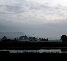 Scrabo In The Mist by Wrayzo