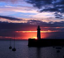 Donaghadee, Sunrise by Wrayzo