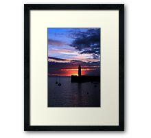 Donaghadee, Sunrise Framed Print