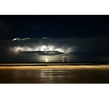 Lights of Surfers Photographic Print