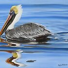 Pelican Ripples by Phyllis Beiser