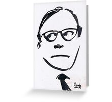 Jack Benny...Wellll! Greeting Card