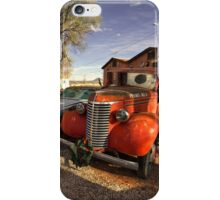 Chevy Pick Up  iPhone Case/Skin