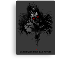 Death Gods Only Eat Apples Canvas Print