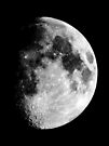 Gibbous Moon by Duncan Waldron