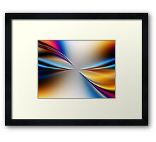 The Touch of Life Framed Print