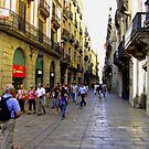 Carrer de la Poraferrissa by Tom Gomez