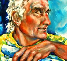 Portrait of the Sculptor, Frederick L. Gregory by Barbara Sparhawk
