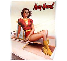 Mary Marvel Pin-Up 01 Poster