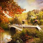 Bow Bridge Crossing by Jessica Jenney