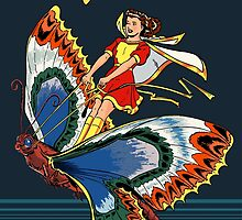 Mary Marvel #5 Digital Reconstruction by TheWrightMan