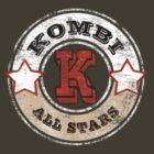Volkswagen Kombi Tee shirt - Kombi All Stars by KombiNation