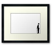 Charlie Black Framed Print