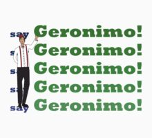 Doctor Says Geronimo! Kids Clothes