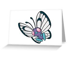 POKEMON BUTTERFREE Greeting Card