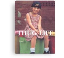 Olsen Twin Thug Life Canvas Print