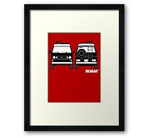 ROAM  Syncro 4x4 Dirtbag Motel Framed Print