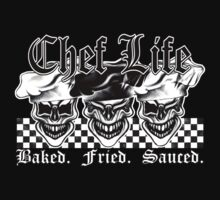 Laughing Chef Skulls: Baked, Fried, Sauced by sdesiata