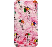 I want to dance in the rain! iPhone Case/Skin