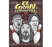 the big lebowski spanish collage Photographic Print