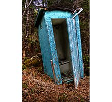 Deep Woods Pitstop Photographic Print
