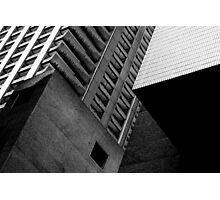 Concrete Cubism - Barbican Photographic Print
