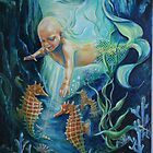 """""""She Could Almost Touch Them"""" by Kathy Ostman-Magnusen"""