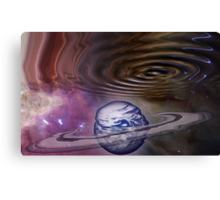 Worm hole in the Spacetime Continuum Canvas Print
