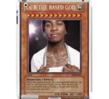 LIL B YUGIOH CARD iPad Case/Skin