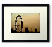 Welcome to London! Framed Print