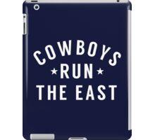 COWBOYS RUN THE EAST iPad Case/Skin