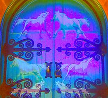 Open The Door to The Horse World by Nancy Stafford