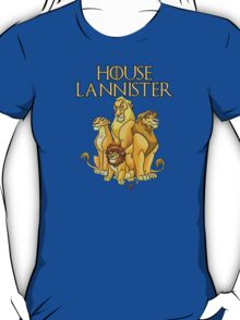 House Lannister- Lion Pride EDITION T-Shirt