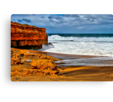 """Onshore Day at Winki Pop"" Canvas Print"