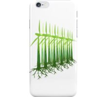 Green Power iPhone Case/Skin