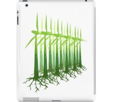 Green Power iPad Case/Skin