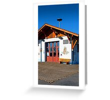 The new firestation of Neureichenau | architectural photography Greeting Card
